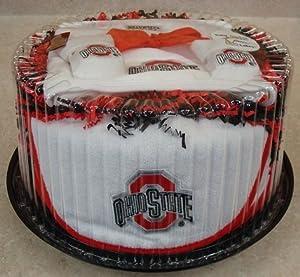 Ohio State Buckeye Baby Cake Gift Set by Future Tailgater