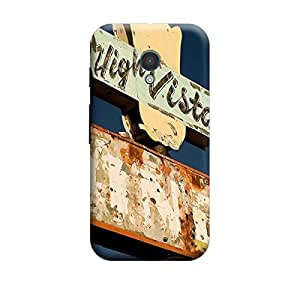 iShell Premium Printed Mobile Back Case Cover With Full protection For Moto X (Designer Case)