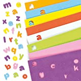 Self-Adhesive Foam Lower-Case Letters Alphabet Stickers Children's Craft Supplies 1100 (Per pack)