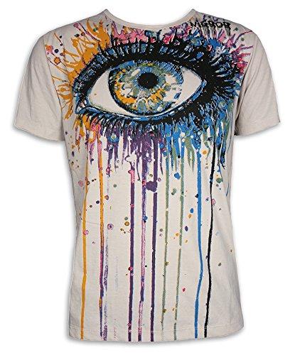 mirror-by-sure-vintage-herren-t-shirt-allsehendes-auge-goa-psychedelic-graffiti-skater-l-creme-vinta