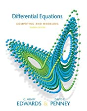 Differential Equations Computing and Modeling by C. Henry Edwards