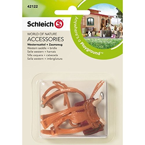 Schleich Western Saddle & Bridle 42122