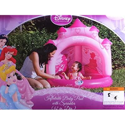 Amazon.com: Disney PRINCESS Baby POOL W/ Sprinkler Wading