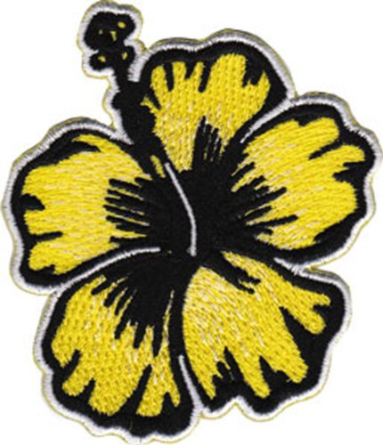 Application Yellow Hibiscus Patch