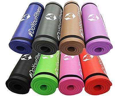 Fitnessmatte »YamunaÂ« / EXTRA-dick und weich, ideal für Pilates, Gymnastik und Yoga, Maße: 183 x 61 x 1,5cm / In vielen Farben erhältlich.
