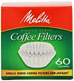 Melitta Java Jig, Single Serve Paper Coffee Filters, 60-Count, Garden, Lawn, Maintenance