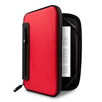 Marware jurni - Funda para el Kindle, color rojo/negro (sirve para Kindle Paperwhite, Kindle y Kindle Touch)