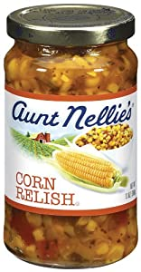 Aunt Nellie's Corn Relish, 13-Ounce Jars (Pack of 12)