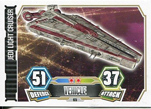 STAR WARS FORZA Attax Serie 3Card # 65Jedi Light Cruiser