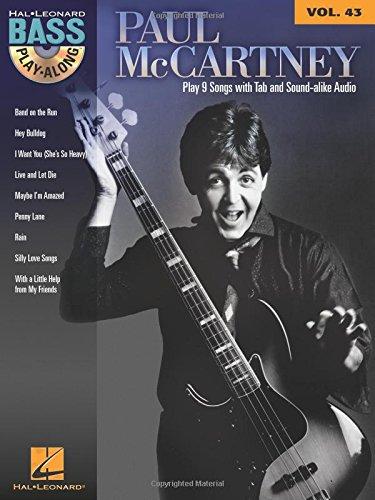 Paul McCartney: Bass Play-Along Volume 43 PDF