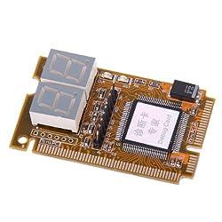 Generic Notebook Diagnostic Card 2-Digit Mini PCI/PCI-E LPC POST Analyzer Tester