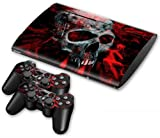 NuoYa001 Skin Sticker Decal For PS3 PlayStation 3 Super Slim 4000 +2 Controllers #53