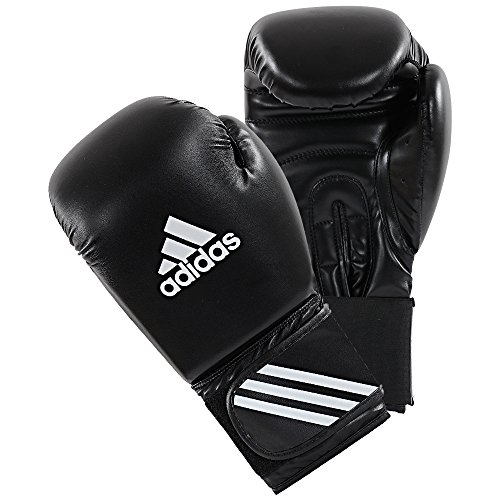 adidas Boxhandschuhe Speed 50, Schwarz, 10, ADISBG50