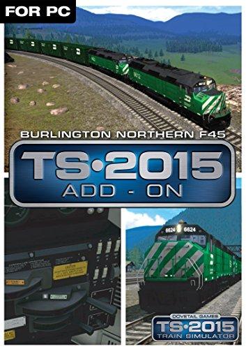 Burlington Northern F45 Loco Add-On [Download]