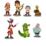 Disney Jake And The Neverland Pirates Figurine Playset ~ 7 Pieces