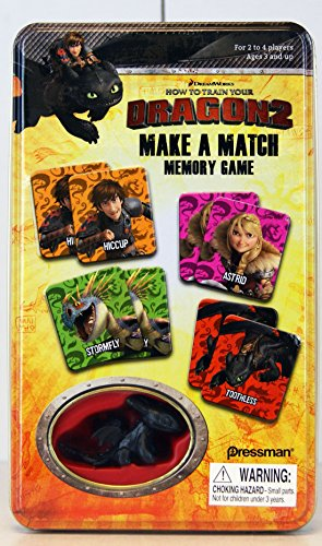 How to Train Your Dragon 2 Make a Match Memory Game and Toothless Figurine