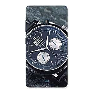 Cute Wrist Watch Multicolor Back Case Cover for Lumia 540