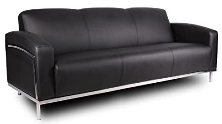 Boss Caressoftplus Sofa with Chrome Frame