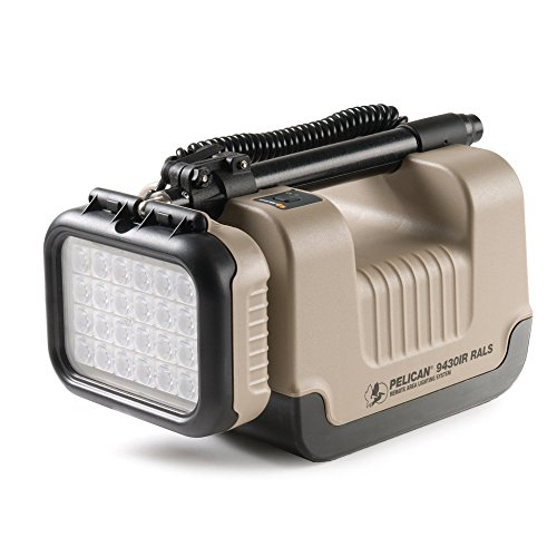 Pelican Products 9430Ir Infrared Remote Area Lighting System, Desert Tan