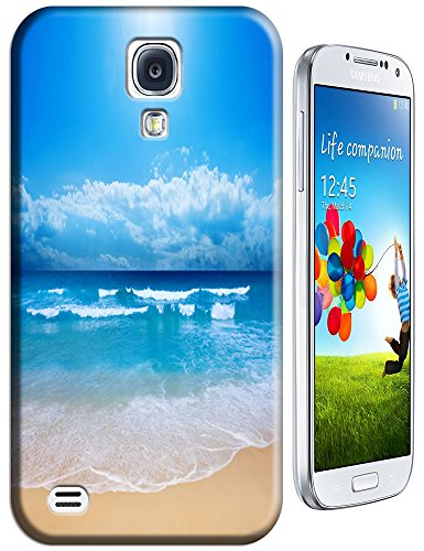 Cell Phone Case Beach Design Beautiful Sunshine Water Trees For Samsung Galaxy S4 I9500 No.8 front-50616