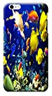 HUAHUI Case / Cover UnderSea World Beautiful Colorful Fishs Sunshine Special Design Cell Phone Cases For iPhone 6 (4.7) Hard Cases No.11