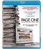 Page One: Inside the New York Times [Blu-ray]