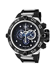 Invicta Men's 6565 Subaqua Noma IV Collection Chronograph Black Polyurethane Watch