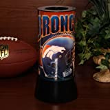 NFL Denver Broncos Rotating Sparkle Lamp at Amazon.com