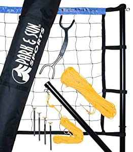 Park and Sun Sports Spectrum 179 Outdoor Volleyball Set by Park & Sun