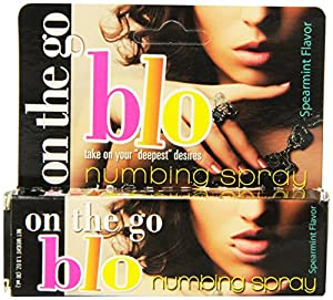 Hott Products On The Go Blo Numbing Spray, 1-Ounce
