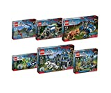 2015 New Lego Jurassic World 6 Kinds of Package Sets 75915 75916 75917 75918 75919 75920 by LEGO Jurassic World