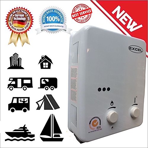 TANKLESS GAS WATER HEATER (LOW PRESSURE STARTUP) 1.6 GPM LPG VENTFREE (PROPANE) (Instant Hot Water Heater For Rv compare prices)