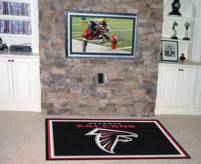 Falcons 4' x 6' Area Rugs