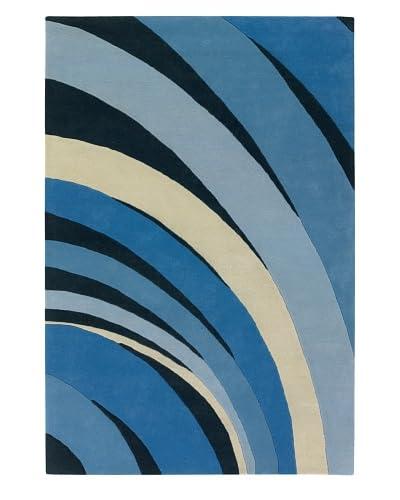 Chandra Counterfeit Studio Hand Tufted Wool Rug  [Blue Skies]