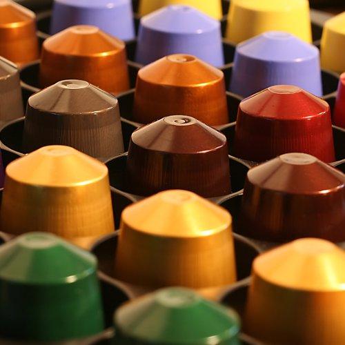 Nespresso Mixed Set - 50 Capsules - 10x Volluto, 10x Capriccio, 10x Livanto, 10x Roma, 10x Arpeggio
