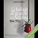 La ballade de la geôle de Reading | Oscar Wilde,Grégoire Couette-Jourdain