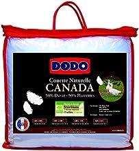 Dodo Canada Couette 220 x 240 cm Très chaude Naturel Anti-Acariens