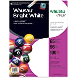 Neenah Bright White Premium Cardstock, 96 Brightness, 65 lb., 8.5x11 inches, 100-Sheets (91901)