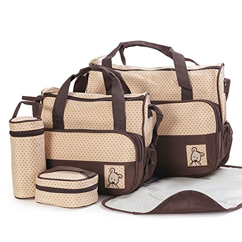 Ansan-5-in-1-5-pcs-cambiador-paales-bolsa-de-paales-bolso-momia-madre-multifuncional-bolso-de-mano-Mummy-paquete