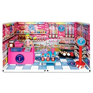 Amazon.com: miWorld Deluxe Sweet Factory Candy Store Environment Set