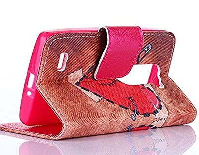 [LG Leon]LG Case,Leon Case,LG Leon Case,LG Leon Cases,Leon Leather,LG Leon Wallet Case,Canica#02 Slim Fit Flip Wallet Leather Case With Stand Function For LG Leon 4G C40 LTE H340N H345 For Boys For Girls 017 from Canica