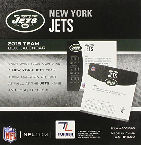 New York Jets 2015 Calendar