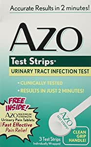 Azo multiple test strips