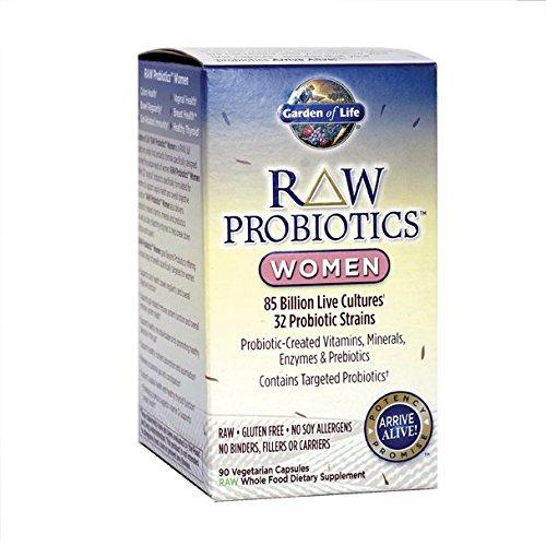 Garden of Life Raw Probiotics Women 90 Capsules (Probiotic Organic compare prices)