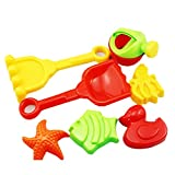 8 Pcs Beach Toy Boat Shovel Rake Sand Bath Toys Shuffle Octopus Set