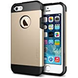 Spigen Tough Armor Case for iPhone 5S / 5 (Champagne Gold) (SGP10584)
