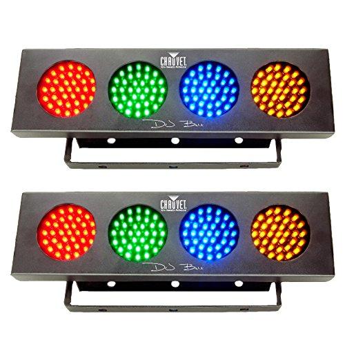2 New Chauvet Dj Bank Color Led Effect Lights Colorbank