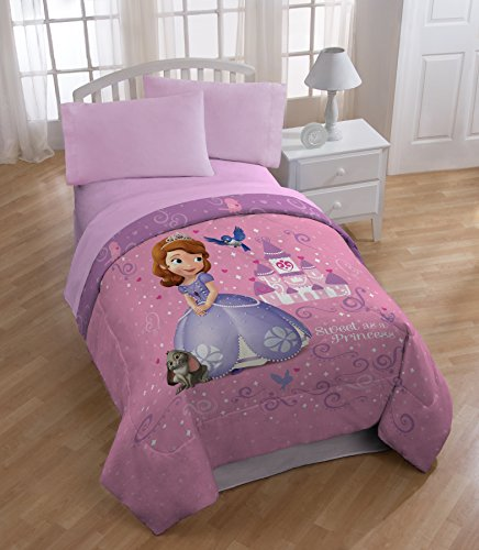 Sofia The First 'Sweet As A Princess' Twin Size Comforter front-91246