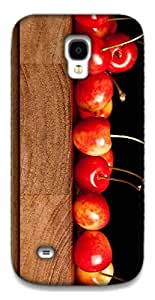 The Racoon Grip cherries hard plastic printed back case / cover for Samsung Galaxy S4 Mini
