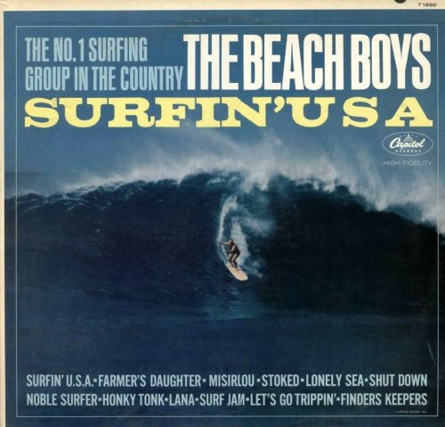 Beach Boys - The Beach Boys: Surfin